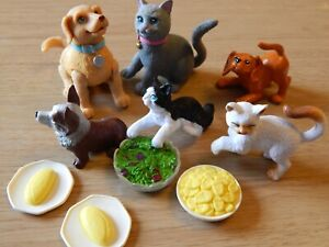 Mattel Barbie Playtime Pets? Plastic Dog Puppy Cat Kitten! Vintage?