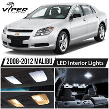 2008-2012 Chevy Malibu White LED Interior Lights Package Kit