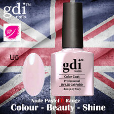 UK SELLER Gdi Nails NUDE Range U05 UV/LED Gel Soak Off nail polish