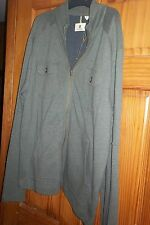 Life Khaki Mens  zip Front Dress Casual Work Shirt XXL   NWT olive green