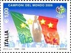 # ITALIA ITALY - 2006 - World Winner - Calcio Football Soccer Sport Stamp MNH