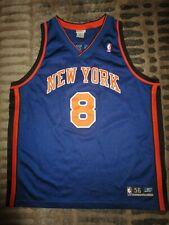 Latrell Sprewell 1999 New York Knicks NBA Reebok Team Issued Jersey 56