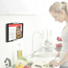 TFY Household kitchen Wall Mount Tablet Phone Holder for i Pad Pro 10.5 inch