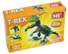 MY Building Bricks Dinosaur 3 In 1 Construction Set ~ T Rex