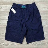 VTG BBC Bugle Boy Navy/Blue Shorts Pocket Men's 28 W94 NWT