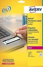 Avery NoPeel Labels AntiTamper 45.7x25.4 mm. [Pack 800] L6145-20