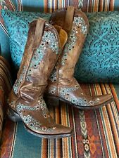 Old Gringo Floral/Rhinestone Embroidered Boots! 7 1/2