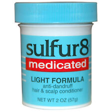 [SULFUR8] MEDICATED LIGHT FORMULA ANTI-DANDRUFF HAIR & SCALP CONDITIONER 2OZ