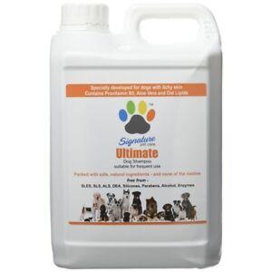 Signature Pet Care Ultimate Hypoallergenic Dog Shampoo Concentrate 2.5L