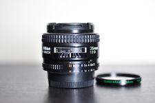 Nikon AF 35mm F2 D Prime FX Lens w/ UV Filter!