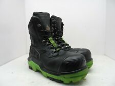 DUNLOP Men's 8'' Composite Toe Composite Plate Leather Work Boot DLNA16100 9.5M