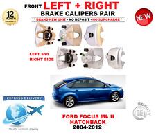 per Ford Focus Mk II Hatchback ANTERIORE SINISTRO E DESTRO PINZE FRENO COPPIA