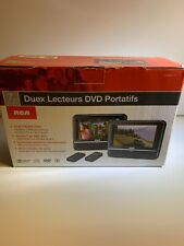 New listing Rca Drc6272 Double Play Mobile Dvd System