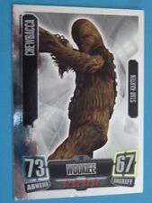 Force Attax Clone Wars Serie 2 (2011), Chewbacca (206), Star-Karten