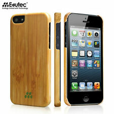 Evutec Karborn S Ultra Thin Slim Real Wood Shockproof Case For iPhone SE/5/5s