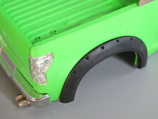 Heavy Duty Black Rubber Fender Set Tamiya RC 1/10 Toyota Tundra High-Lift Truck
