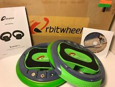Orbitwheel Skates Green And Black - Used Perfect Condition