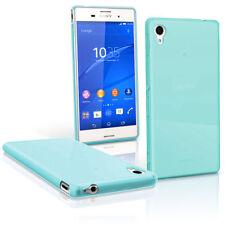 Étuis, housses et coques bleu transparent Sony Xperia M pour téléphone mobile et assistant personnel (PDA)