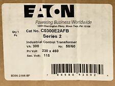 Eaton C0300E2Afb 300Va Control Transformer Primary 230 460Vac Secondary 115 Vac