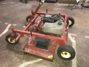 Swisher pull behind mower - 3 blades with 60 inch total cutting width