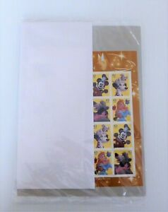 2008 Disney Imagination, Sheet of 20 stamps, 4 DCPs, 4342-4345, New, Sealed