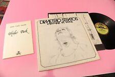 DEMETRIO STRATOS LP CANTARE LA VOCE ORIG ITALY PROG 1978 EX CON LIBRETTO !