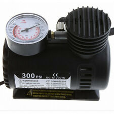 12V Auto Electric Air Compressor Tire Inflator Pump 300 PSI for Car Motorcycle