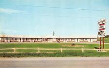 PRESQUE ISLE, ME Maine  NORTHERN LIGHTS MOTEL Aroostook Co 1964 Chrome  Postcard