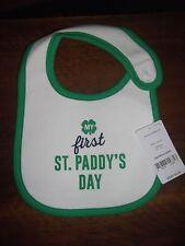 Baby's First St. Paddy's Day Bib