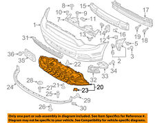 FORD OEM 13-14 Mustang Front Bumper-Splash Shield Under Engine Cover DR3Z17626B