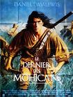 Affiche 120x160cm LE DERNIER DES MOHICANS /THE LAST OF THE…1992 Daniel Day-Lewis