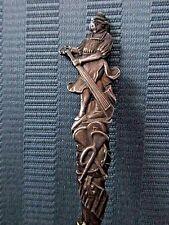 GORHAM Spoon 1885 MINSTREL TROUBADOUR STERLING SILVER .925 Musical Figural Horn