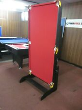 NEW MODEL 6FT FOLDABLE POOL TABLE  [RED]