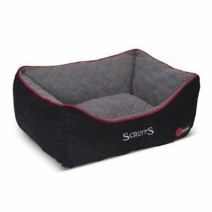 SCRUFFS THERMAL BOX BED BLACK 4 SIZES