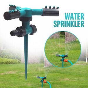 1 Pcs Rotating Lawn Sprinkler Automatic Garden Water Sprinklers Lawn Irrigati^lk