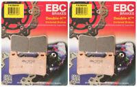 EBC Double-H Sintered Metal Brake Pads FA390HH (2 Packs - Enough for 2 Rotors)