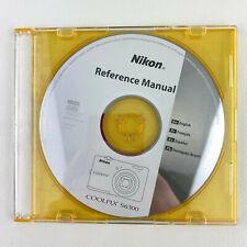 Nikon Coolpix S6300 Windows Macintosh Reference Manual CD Rom Free Shipping