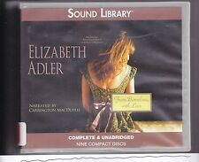 From Barcelona, with Love by Elizabeth Adler (2011, CD, Unabridged) Murder Novel