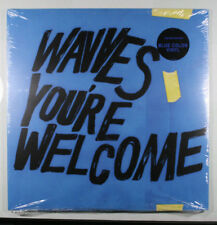 WAVVES You're Welcome NEW SEALED LIMITED EDITION BLUE COLORED VINYL ALBUM/2017