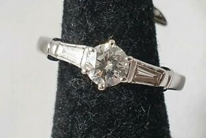 G VS Diamond 18k Yellow white Gold Ring Size K1/2 with valuation 5.7k