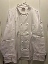 The Culinary Company 3xl Long Sleeve Chef Coat White Jacket