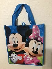 Disney Mickey & Minnie Mouse Reusable Treat Bag Grocery Shopping Tote *New*