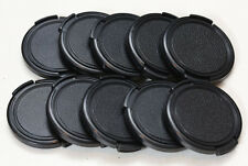 Front lens caps 49mm, lot of 10.