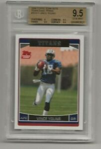 2006 TOPPS TEAM SET VINCE YOUNG RC BGS 9.5///