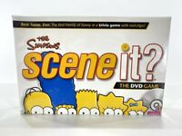 NEW The Simpsons Scene It DVD Trivia Board Game Mattel SEALED 2009 Cartoon