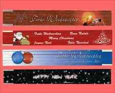 4 Stk. Gliedermaßstäbe Weihnachten und neues Jahr