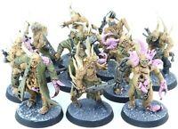 (10 Figures) Warhammer 40K Nurgle Death Guard Chaos Poxwalkers