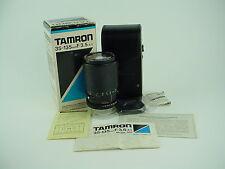Tamron 40A 35-135mm f3.5-4.5 Macro BBAR MC Lens w/ Manual & Case for Adaptall-2
