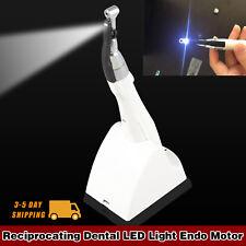USA Dental Mini LED Endo Motor Treatment 16:1 Contra Angle Reciprocate Wireless