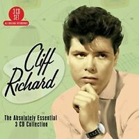 CLIFF RICHARD - ABSOLUTELY ESSENTIAL 3 CD (BOX-SET) NEU
